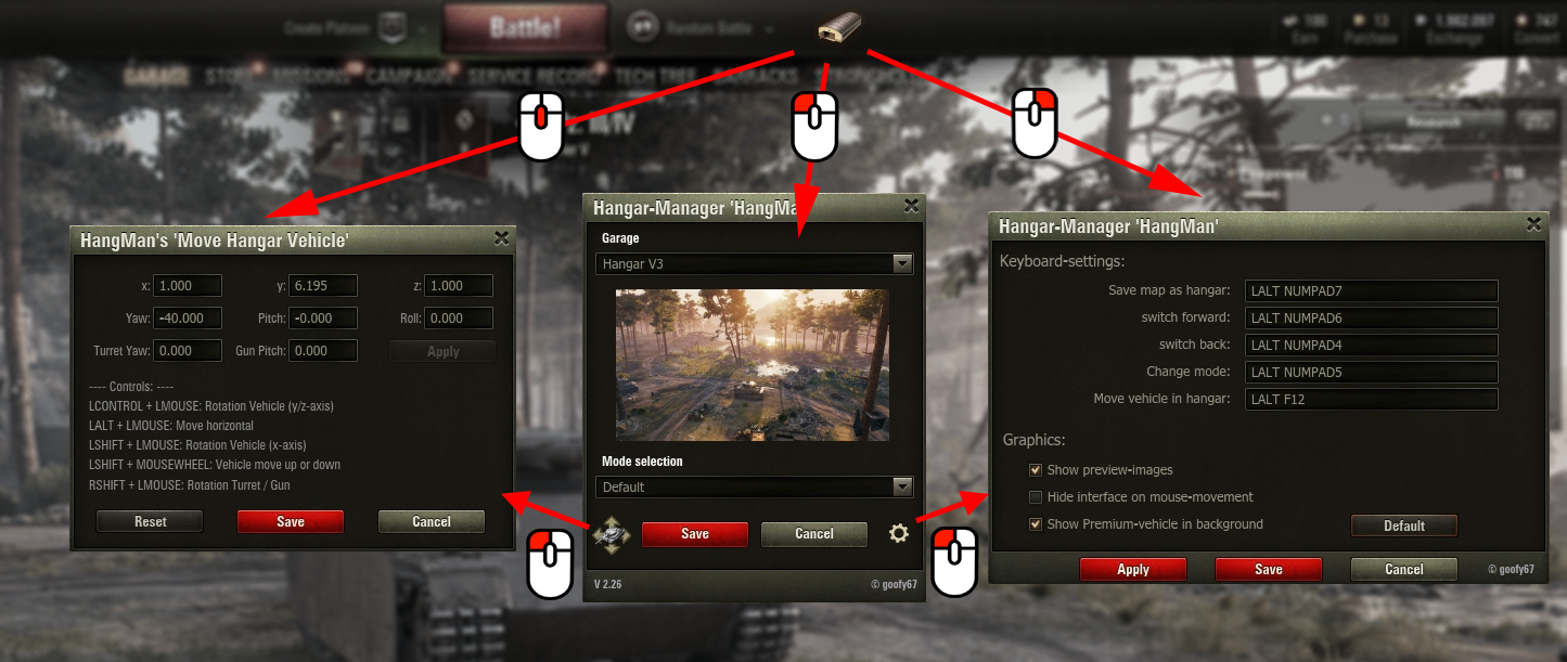 hangman mod world of tanks